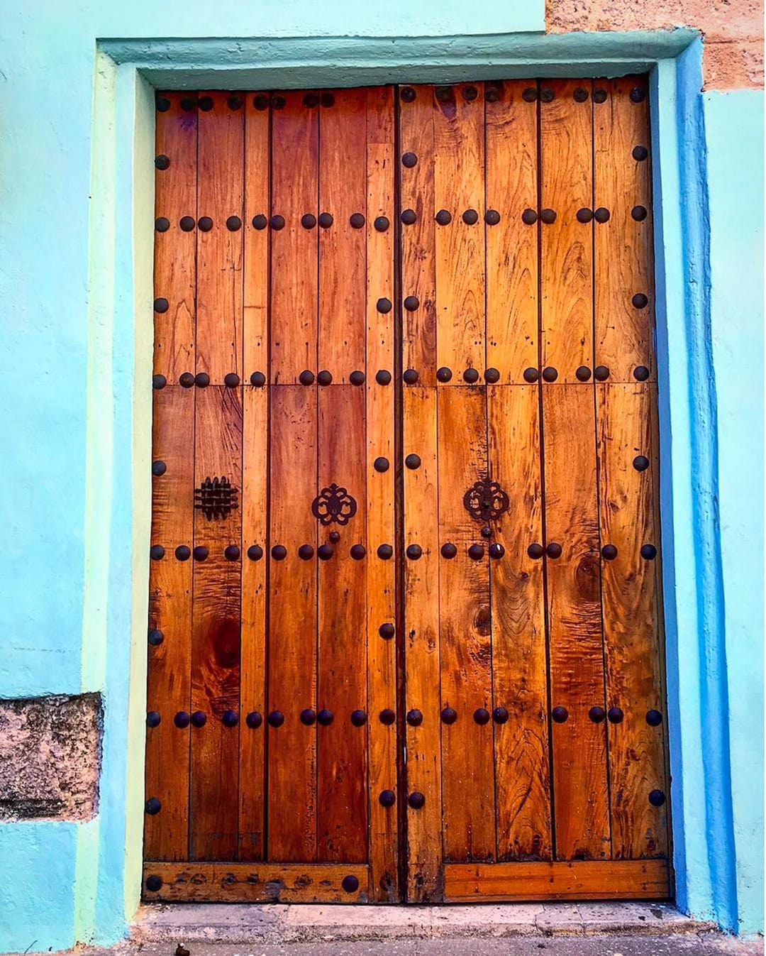 Old Door in Havana Cuba