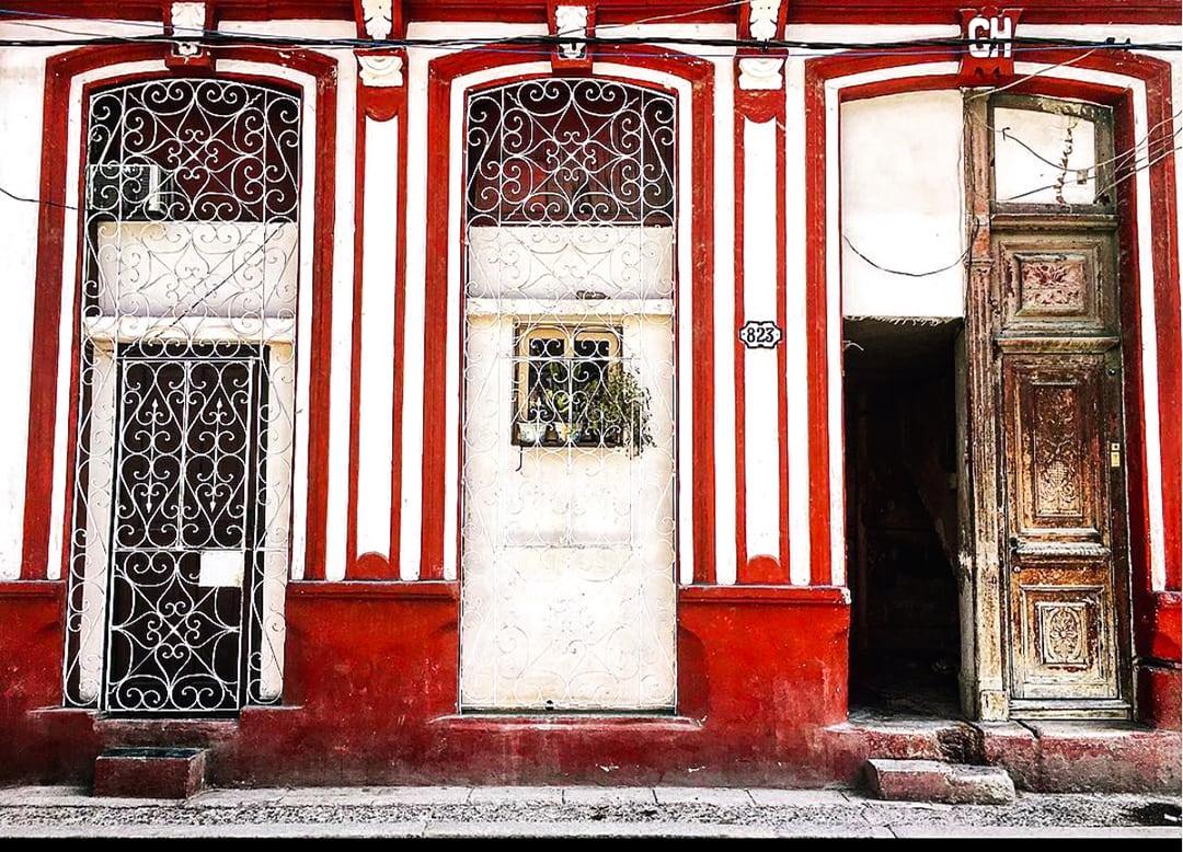 Doors in Havana Cuba