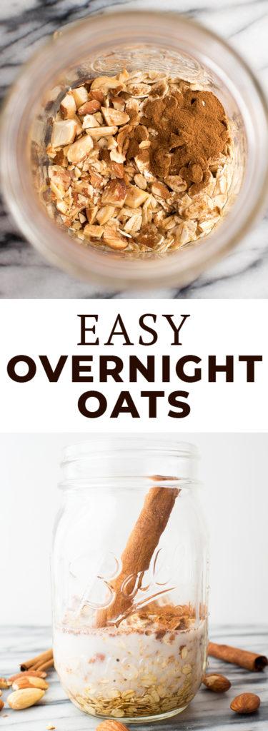 How to Make Basic Overnight Oats