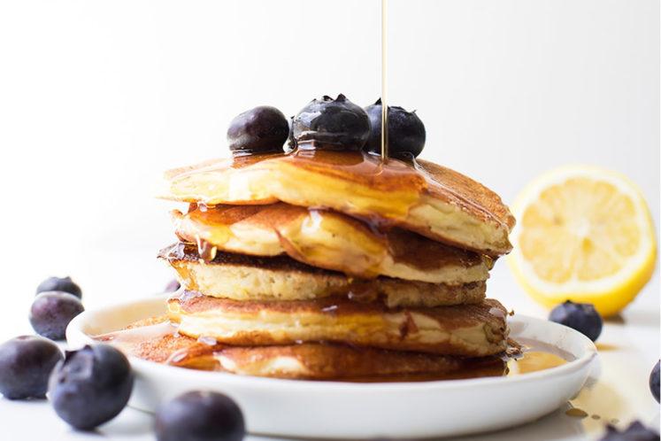 Easy Healthy Protein Pancakes