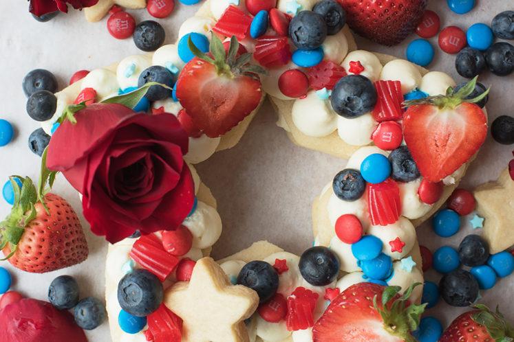 Star Shaped Cream Tart Cake
