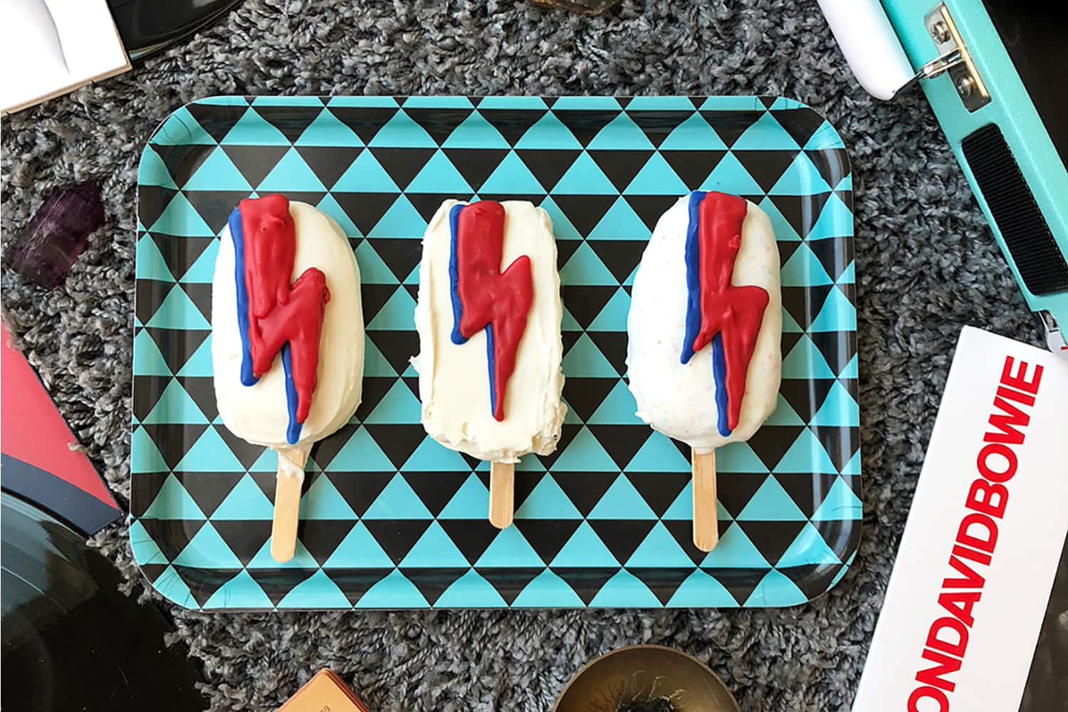 Ghost Pepper Ice Cream Popsicles