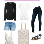 Travel Capsule Wardrobe for Vacation