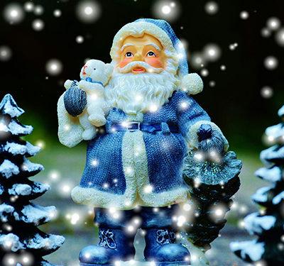 Types of Christmas Trees - Santa