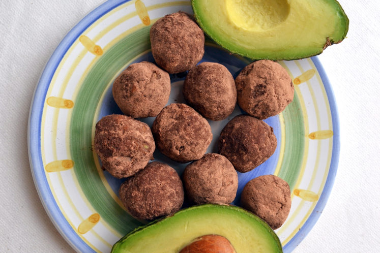 Keto-Friendly Chocolate Avocado Fat Bombs