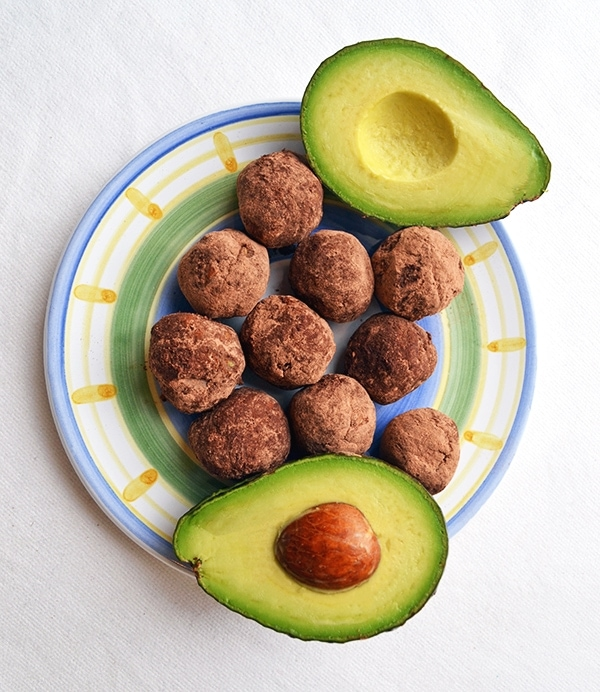 Avocado Chocolate Keto Fat Bombs