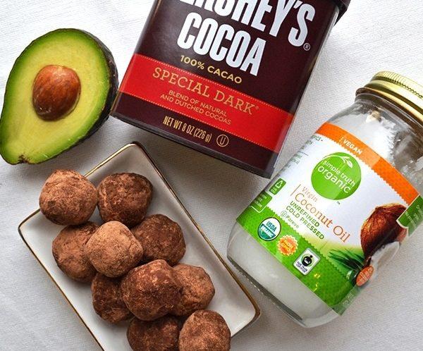 Keto-Friendly Avocado Chocolate Fat Bombs