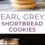 Lavender Earl Grey Shortbread Cookies made with Private Selection Tea! #ralphs #kroger #privateselection #sponsored #tea #shortbread #shortbreadcookies #teacookies #cookies #baking #holidays #christmascookies