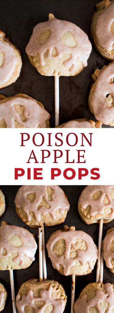 Snow White Poison Apple Pie Pops