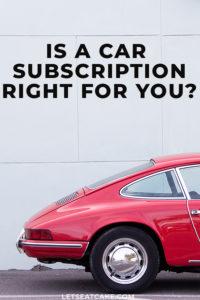 Car Subscription Services Guide