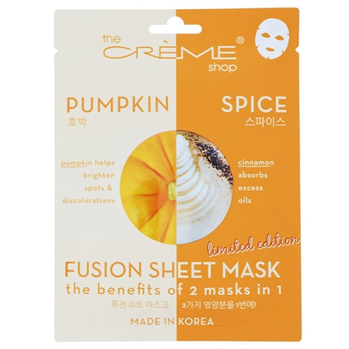 Basic Bitch Gift Guide - Pumpkin Spice Face Masks