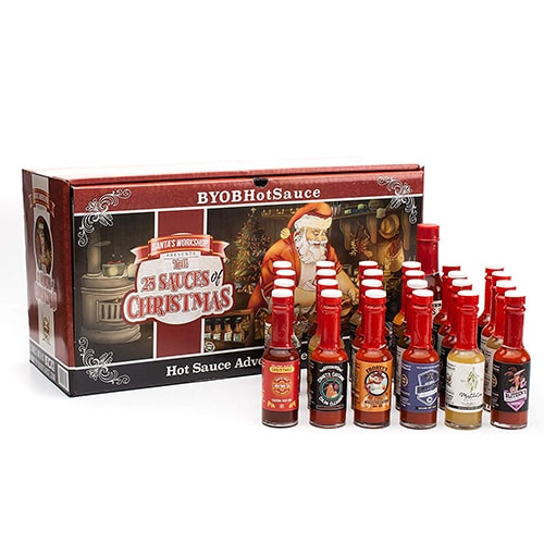Unique Advent Calendars - hot sauce