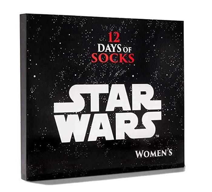 Star Wars Socks Advent Calendar