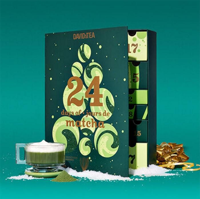 Unique Advent Calendars - Matcha Tea