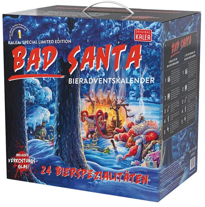 Unique Advent Calendars - Bad Santa Beer