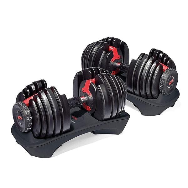 Amazon Gift Guide - Bowflex SelectTech Adjustable Dumbbells