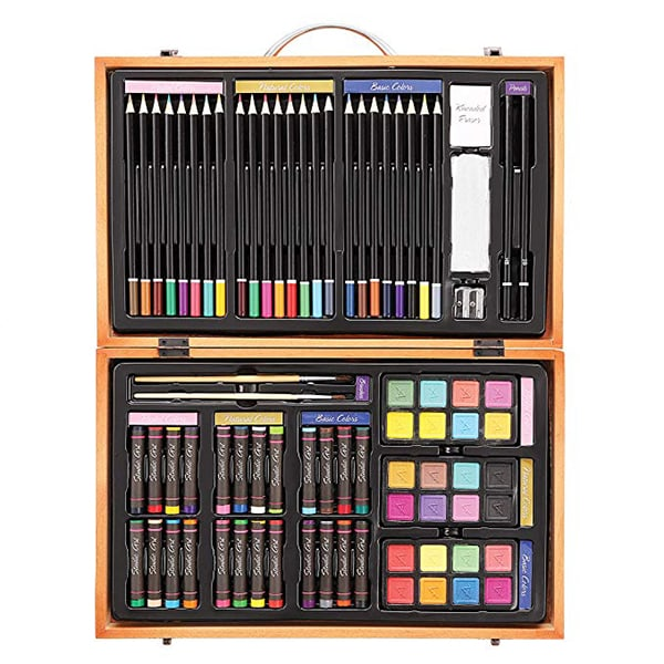 Amazon Gift Guide - Darice 80 Piece Deluxe Art Set