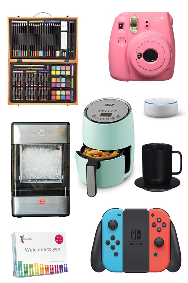 Your Guide to 24 of the Best Holiday Gifts on Amazon! From Instant Pots and DNA kits to ceramic hair dryers and dog cameras, we've rounded up our favorites for this gift guide from Amazon's most wanted items. #holidays #christmas #giftguide #amazon #holidaygifts