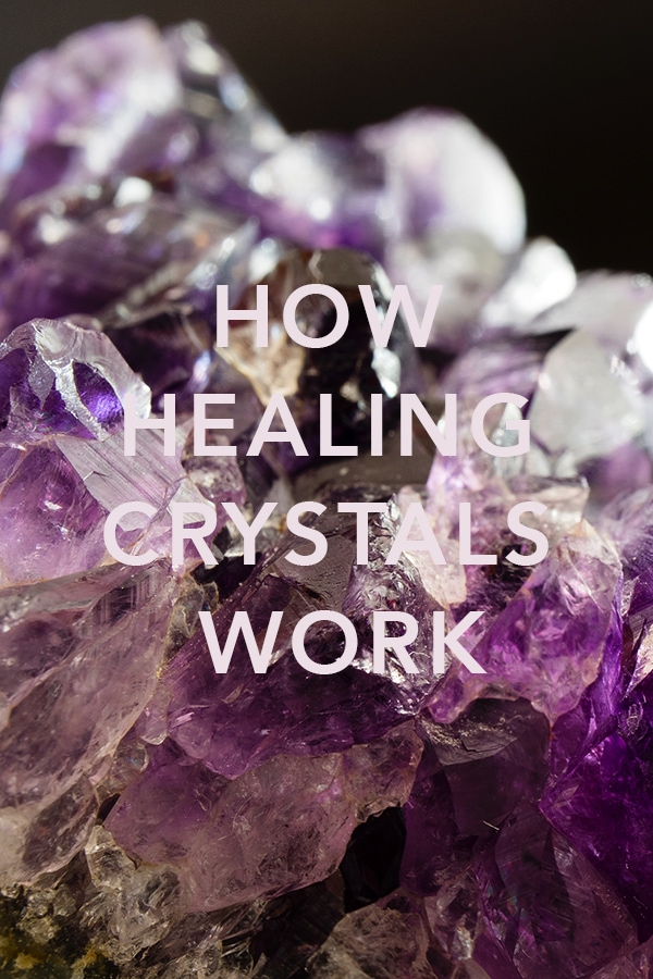 A beginner's guide to healing crystals #crystals #amethyst #crystalsmeanings #crystaljewelry #crystalhealing #beginnersguidetocrystals #witches
