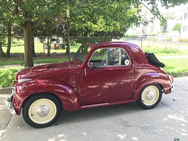 Smallest Cars in the World - Fiat 500 Topolino