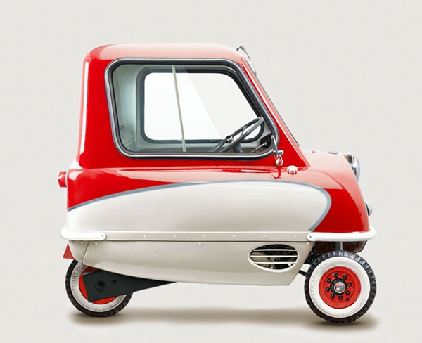 Smallest Cars in the World - Peel P50