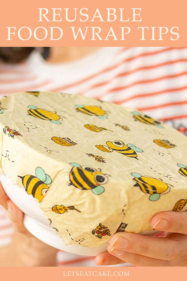 Beeswax wraps. You've seen them, but what are beeswax food wraps, how do they work, and where can you get these reusable food wraps? Find out! #beeswaxwraps #home #diy #kitchendiy #kitchen #beeswax #recycle #reusable #foodwrap #beeswaxdiy