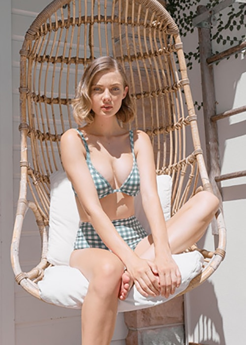 Best Swimsuits of 2019 Ephemera Gingham