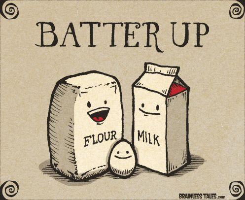 Cake Puns - Batter Up