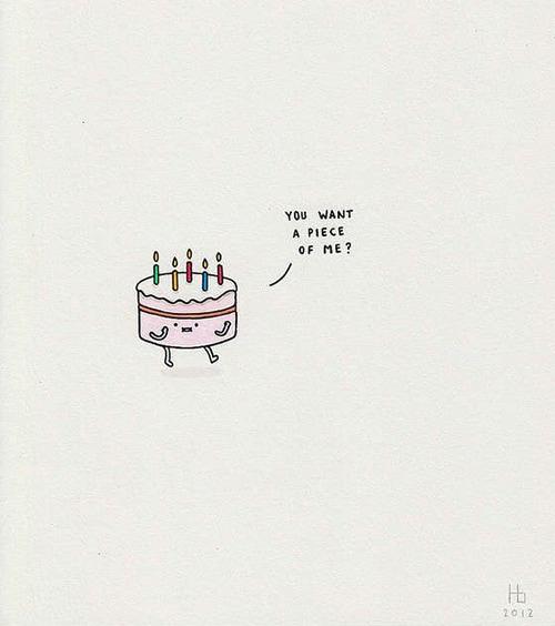 Cake Puns - You Wanna Piece of Me