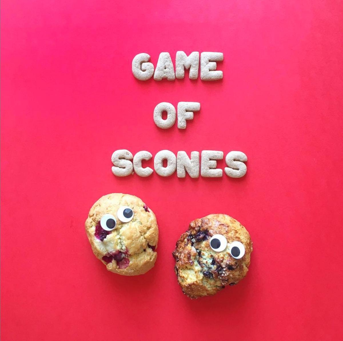 Cake Puns - Game of Scones