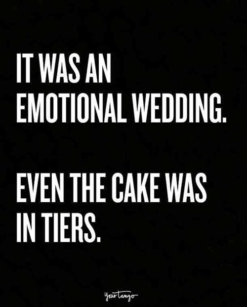 Cake Puns - Even the Cake Was in Tiers