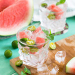 We Tried Ciroc Summer Watermelon Vodka - cocktail in glass