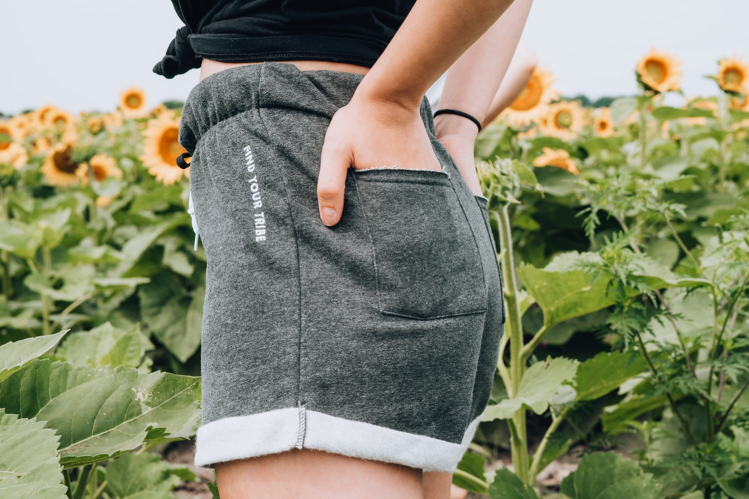 3 Easy Ways You Can Reduce Your Carbon Footprint - Woman wearing cotton shorts