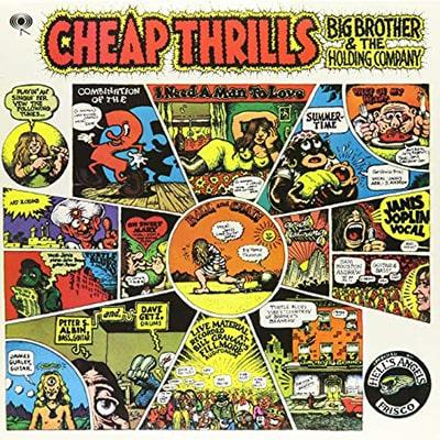 Best Vinyl Rock Albums - Janis Joplin Cheap Thrills