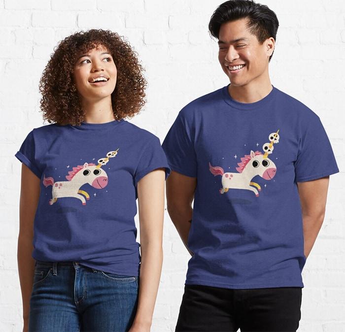 Ella Lopez Shirts From Lucifer - Unicorn of Death
