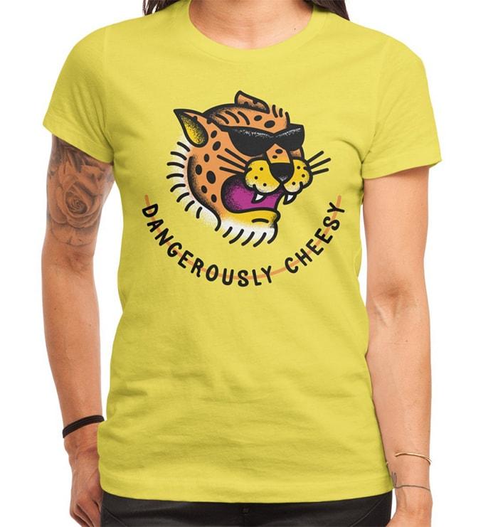 Ella Lopez Lucifer - dangerously cheesy cheetah shirt
