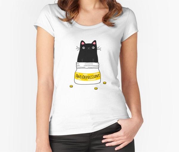 Lucifer's Ella Lopez T Shirts - Fur Antidepressant