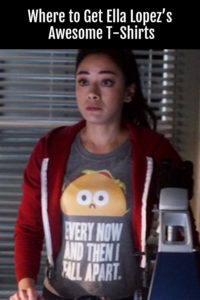 Love Ella Lopez's T Shirts on Lucifer? Find Out Where to Get Them!