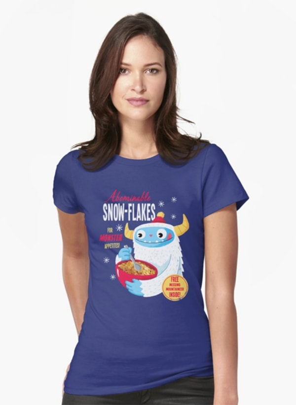 Lucifer's Ella Lopez T Shirts - Abominable Snowflakes