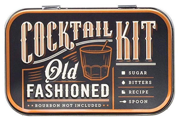 New Relationship Gift Ideas - Old Fashioned Cocktail Kit