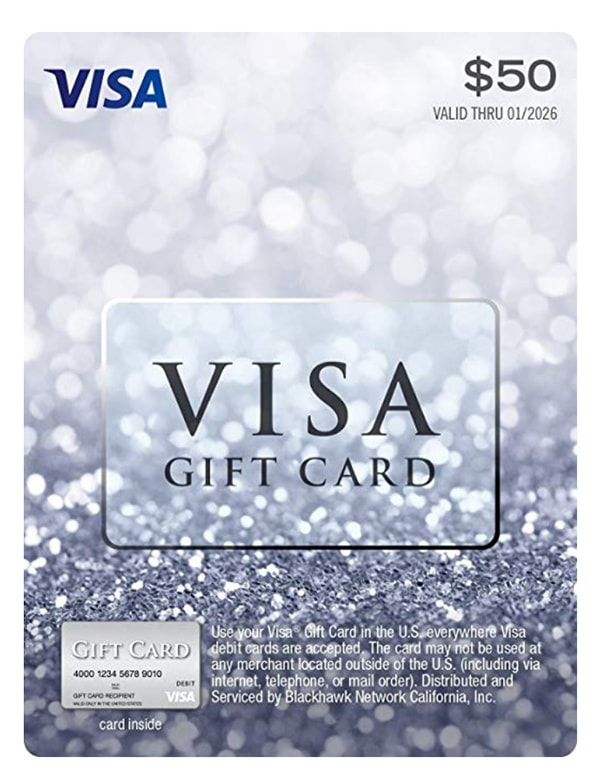 New Relationship Gift Ideas - Visa Gift Card