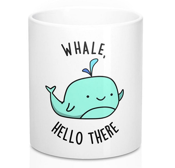 New Relationship Gift Ideas - Whale Hello Mug