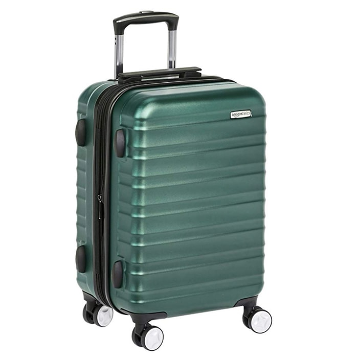 Best Hardside Luggage with Spinner Wheels - AmazonBasics Bag