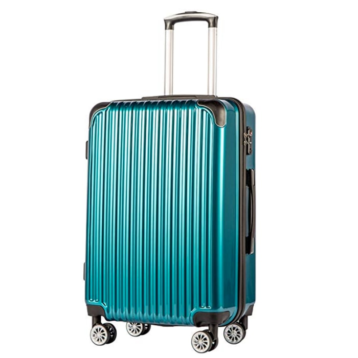 Best Hardside Luggage with Spinner Wheels - Coolife Luggage Expandable Suitcase