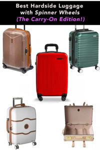 Best Hardside Luggage with Spinner Wheels
