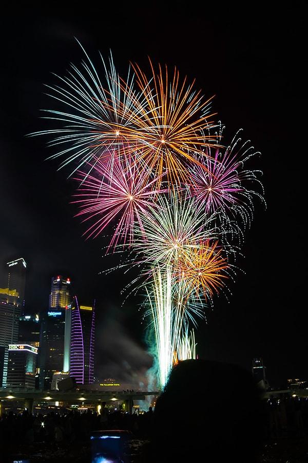 summer hashtags - fireworks over vegas