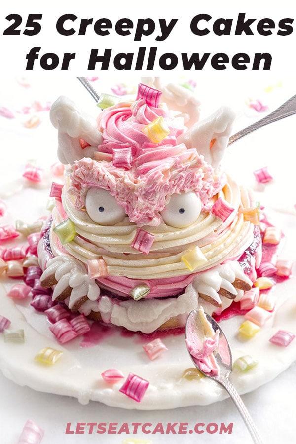 La Chateleine Creepy Halloween Cakes and Desserts