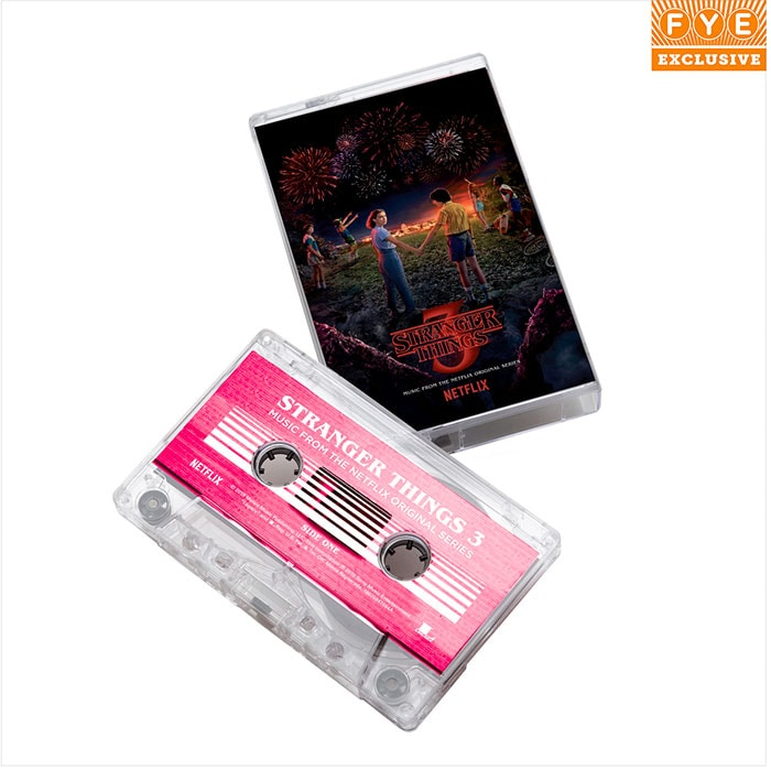 Stranger Things Season 3 Soundtrack - FYE Cassette