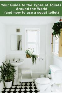 Types of Toilets Around the World
