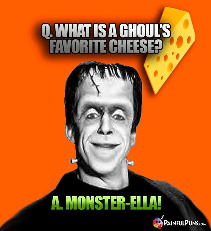 cheese puns - munster